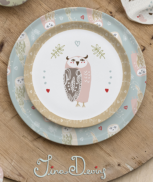 Folky Birds by Tina-Devins - Homewares