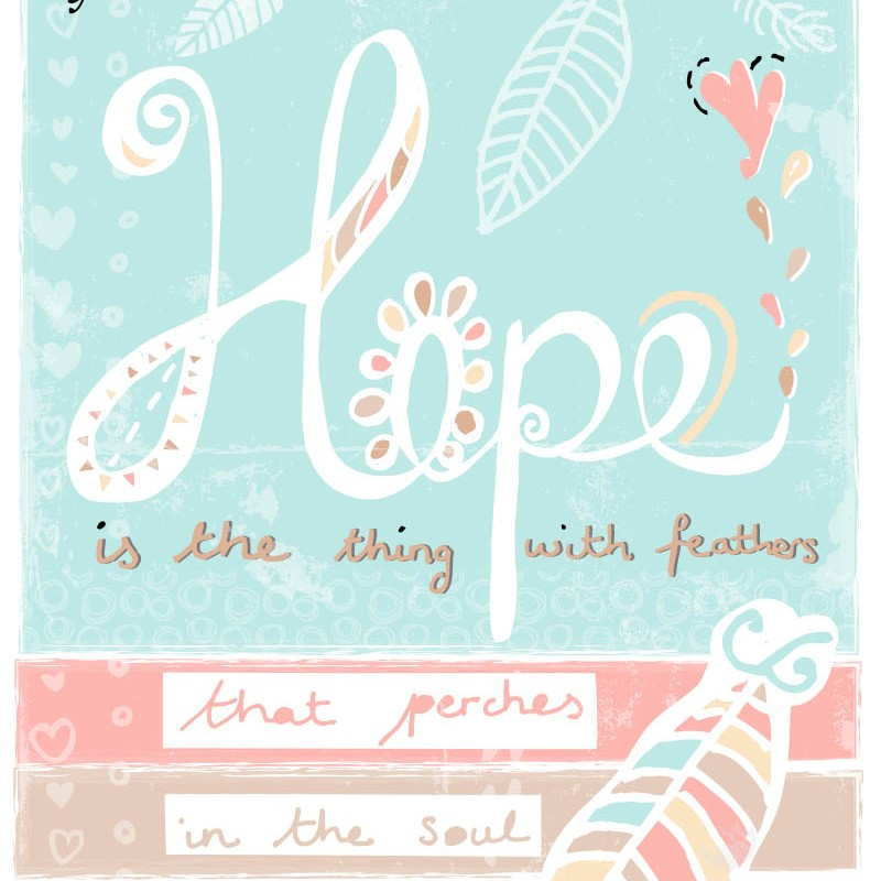 Hope Art Print by Tina Devins