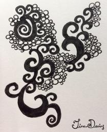 Pen Sketchbook by Tina Devins