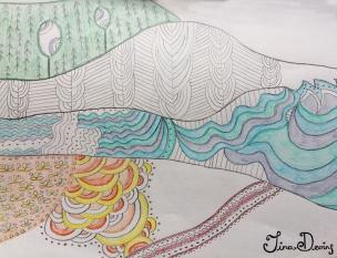 Pencil Sketchbook by Tina Devins