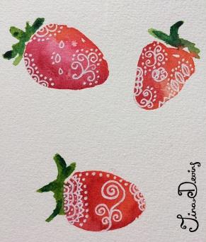 Watercolour & Pen Sketchbook by Tina Devins