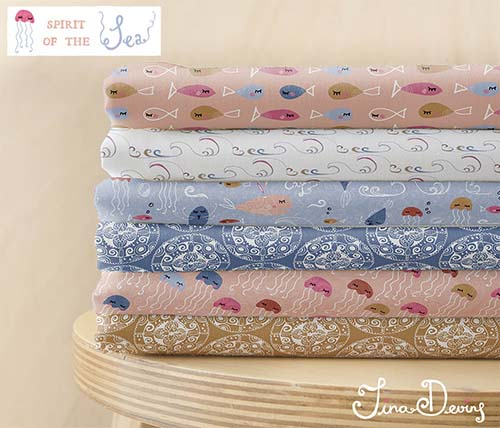 Spirit of the Sea Pattern Collection by Tina Devins