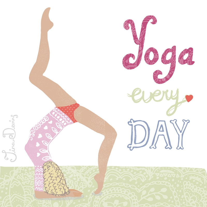 Yoga Every Day by Tina Devins