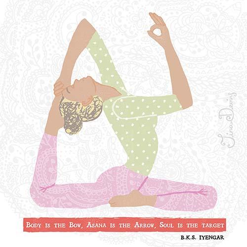Yoga Asanas by Tina Devins