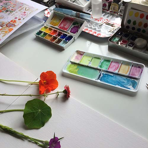 Watercolour Botanicals by Tina Devins