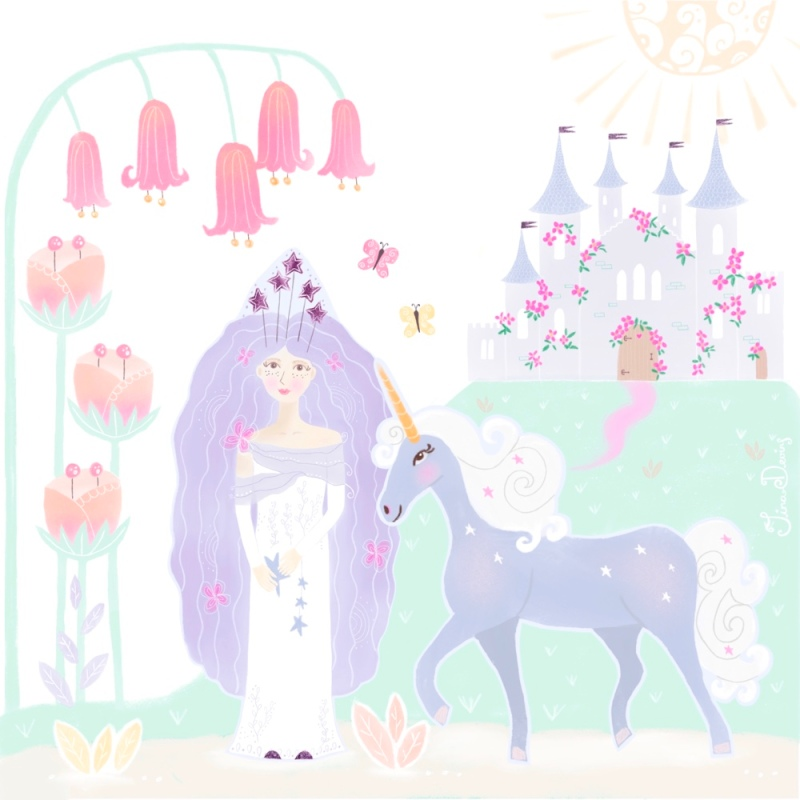 Princess Lia & Cherry the unicorn