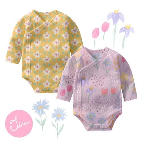 'Spring Dreams' floral patterns by Tina Devins